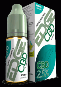 cbd liquid 250mg menthol edge